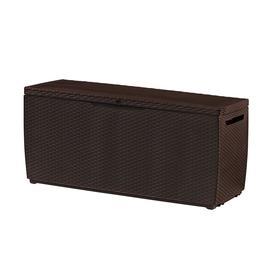 Сундук Capri storage box, 302 л, коричневый