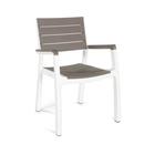 Стул Harmony armchair, цвет бежевый и белый