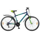 """Велосипед 26"""" Foxx Atlantic, 2018, цвет синий/зеленый, размер 18"""""""