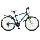 """Велосипед 26"""" Foxx Atlantic, 2018, цвет синий/зелёный, размер 20"""""""