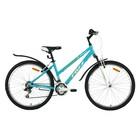 """Велосипед 26"""" Foxx Bianka, 2018, цвет зелёный/белый, размер 17"""""""