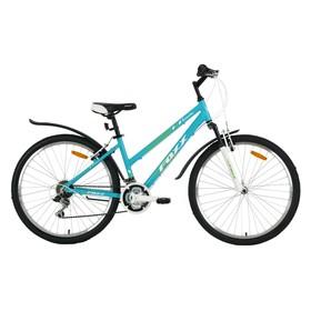 """Велосипед 26"""" Foxx Bianka, 2018, цвет зеленый/белый, размер 17"""""""