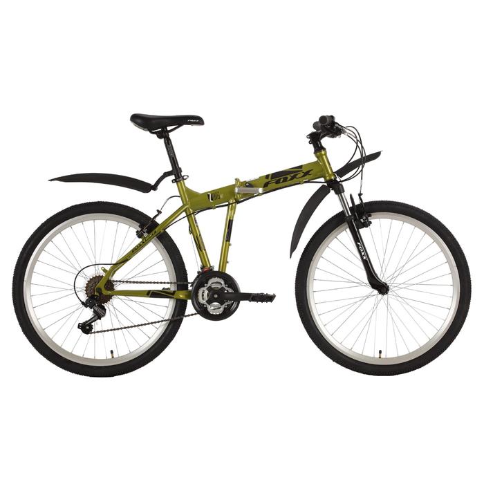 """Велосипед 26"""" Foxx Zing H1, 2018, цвет зелёный, размер 18"""""""