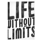 Постер А3 интерьерный «Живи без границ», 29 х 42 см