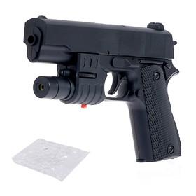 """Пистолет """"Град"""", с лазером, стреляет гелевыми пулями"""