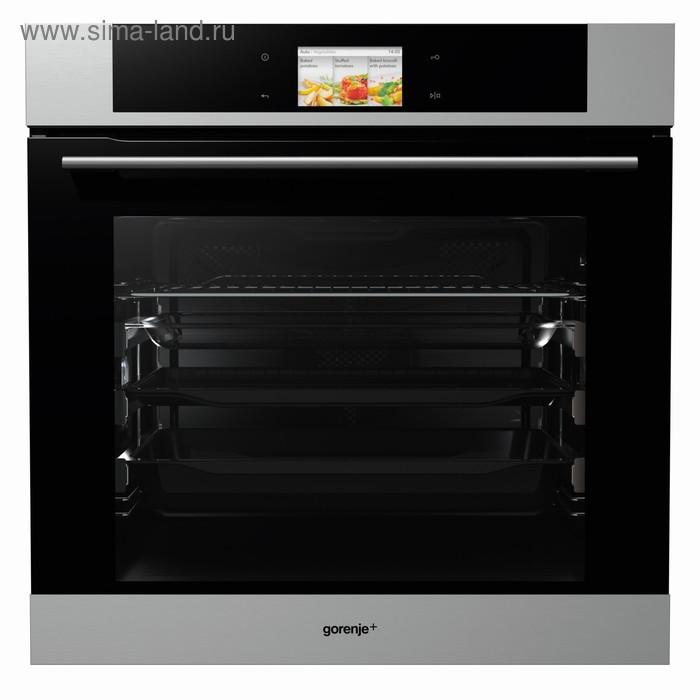 Духовой шкаф Gorenje+ GP979X, 71 л, класс А+, 16 режимов, черный/серебристый