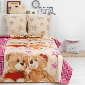 Постельное бельё Дай Поспать «Тедди», 147х217 см, 150х220 см, 70х70 см - 2 шт