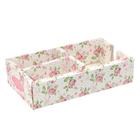 """Organizer folding table """"Flower abundance"""", 12 x 21 x 5 cm"""