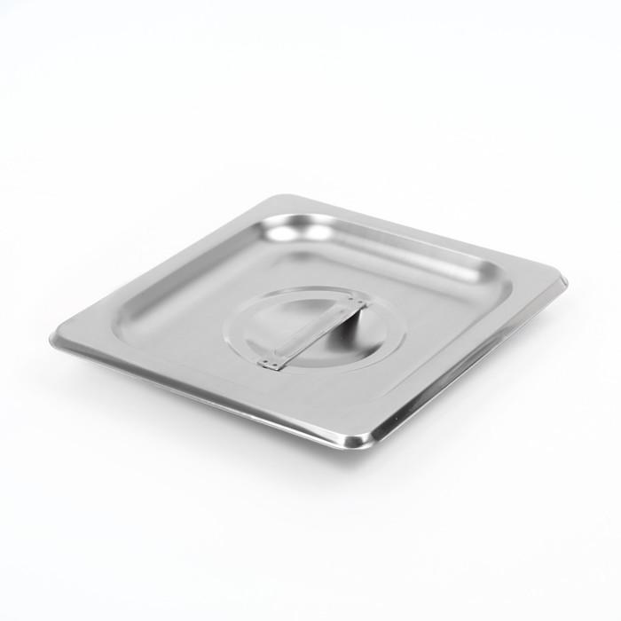 Крышка к гастроёмкости, 1/6 17,2×16,2 см толщина 0,8 мм