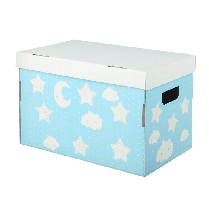 Складная коробка «Любимые игрушки», 37 х 22 х 25 см