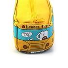 Пенал школьный на молнии МИКС Автобус