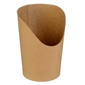 Упаковка для картофеля фри, снеков, поп корна, 11 х 7,5 х 13 см Ош
