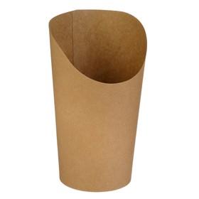 Упаковка для картофеля фри, снеков, поп корна, 11 х 6 х 14,3 см Ош
