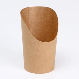 Упаковка для картофеля фри, снеков, поп корна, 9,3 х 5,8 х 11,5 см Ош