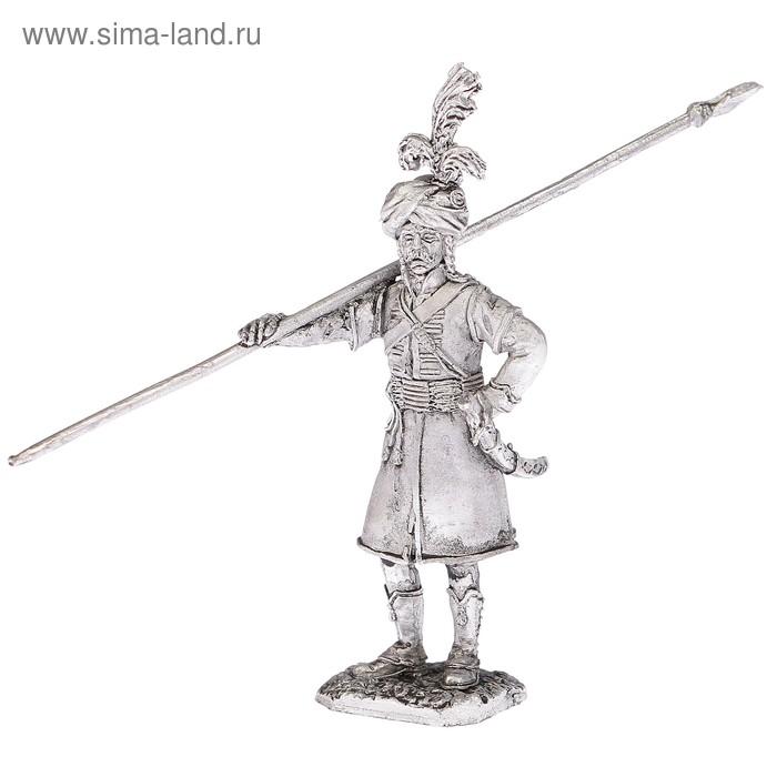 """Оловянный солдатик """"Рядовой полка дромадеров 1799 год"""""""