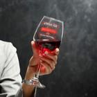 "Wine glass ""the Crazy Empress"""