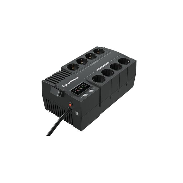 Источник бесперебойного питания CyberPower BS650E NEWS, 390 Вт, 650 ВА, черный