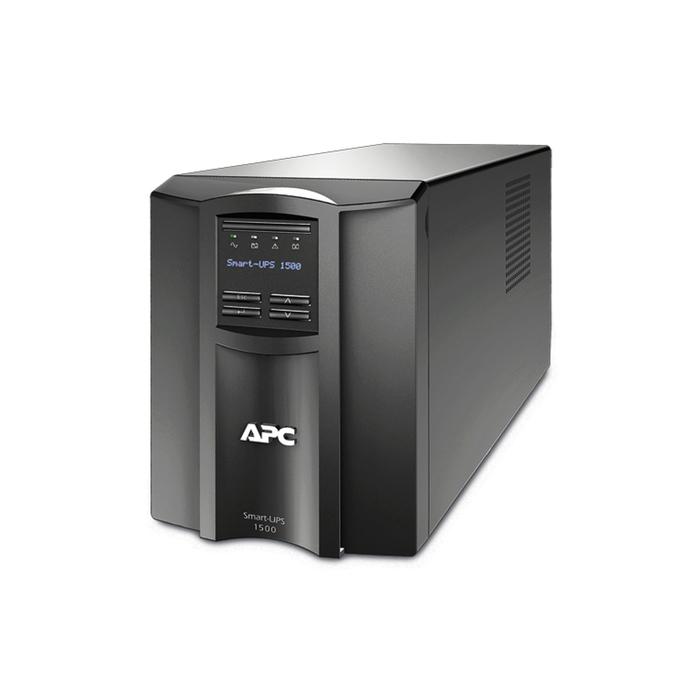 Источник бесперебойного питания APC Smart-UPS SMT1500I, 980 Вт, 1500 ВА, черный