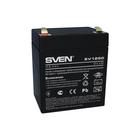 Батарея аккумуляторная SVEN SV 1250 (12V 5Ah) SV-0222005, 12В