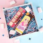 """Тени детские для девочек """"Шоко-мания"""", 5 цветов по 1,5 г, аромат шоколада"""