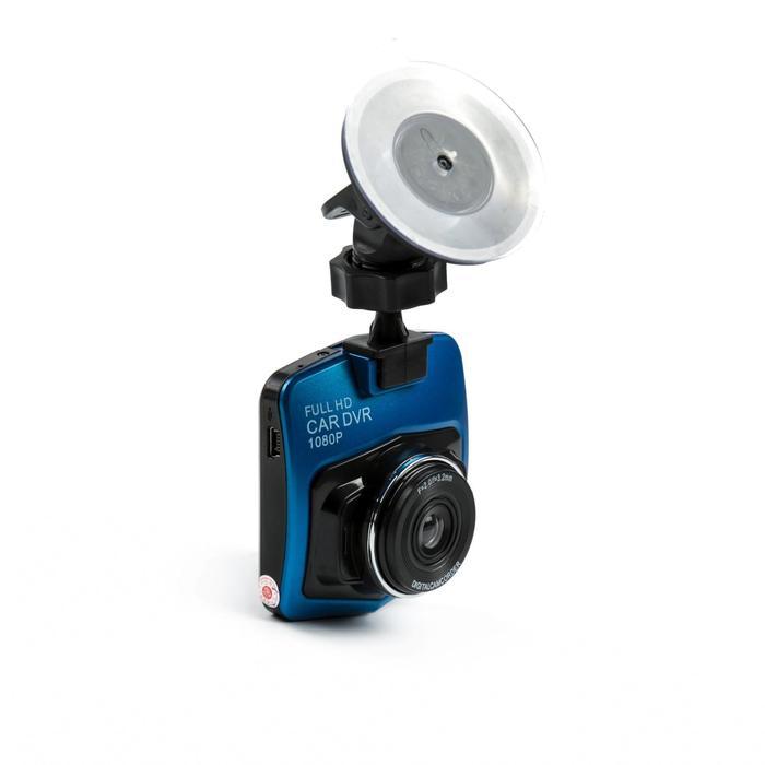 Видеорегистратор автомобильный, разрешение 1080P, TFT 2.3, угол обзора 120°, синий