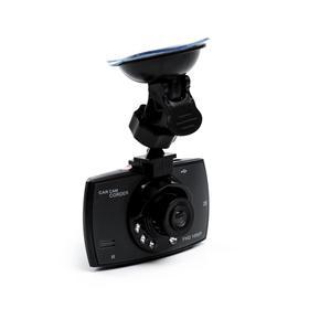 Видеорегистратор автомобильный, разрешение 1080P, TFT 2.4, угол обзора 120°, черный