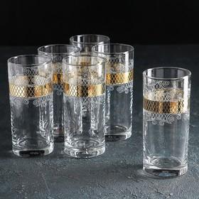 "Набор стаканов для сока 290 мл ""Винтаж"", 6 шт"