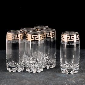 """Набор стаканов для сока 390 мл """"Греческий узор"""", 6 шт"""