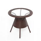 Стол BROWN, коричневый, GG-04-07