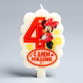 Candle in Disney Cake 4
