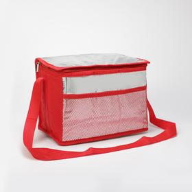 {{photo.Alt    photo.Description    'Термосумка, отдел на молнии, наружный карман, регулируемый ремень, цвет красный'}}