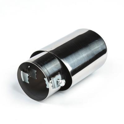 Насадка на глушитель скошенная 140х60 мм