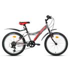 "Велосипед 20"" Forward Dakota 20 1.0, 2018, цвет серый матовый, размер 10,5"""