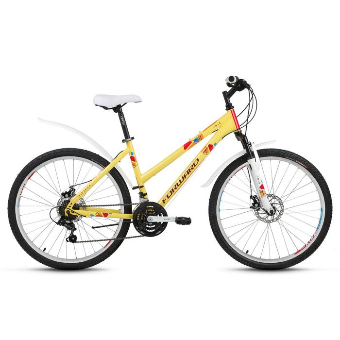 """Велосипед 26"""" Forward Iris 2.0 disc, 2018, цвет песочный, размер 17"""""""
