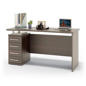 Компьютерный стол, 1400 × 600 × 750 мм, цвет венге