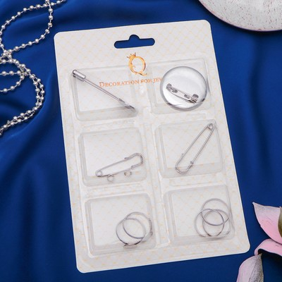 Набор для создания украшений №8 цвет серебро