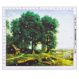 "Outline embroidery pattern ""Klodt. Oak grove"", 47 x 39 cm"