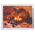 Канва для вышивания с рисунком «Гирв Альфред Александрович. Персики и сливы», 28 х 37 см - фото 692671