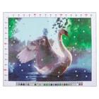 Канва для вышивания с рисунком «Лебедь», 28 х 37 см