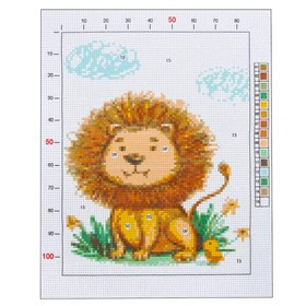 """Outline embroidery pattern """"Livelock"""", 20 x 25 cm"""
