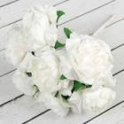 """Букет """"Объёмный цветок"""" 7 цветков, белый"""