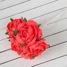 """Букет """"Объёмный цветок"""" 7 цветков, розовый"""