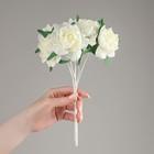 """Букет """"Роза"""" 13 цветков, белый"""
