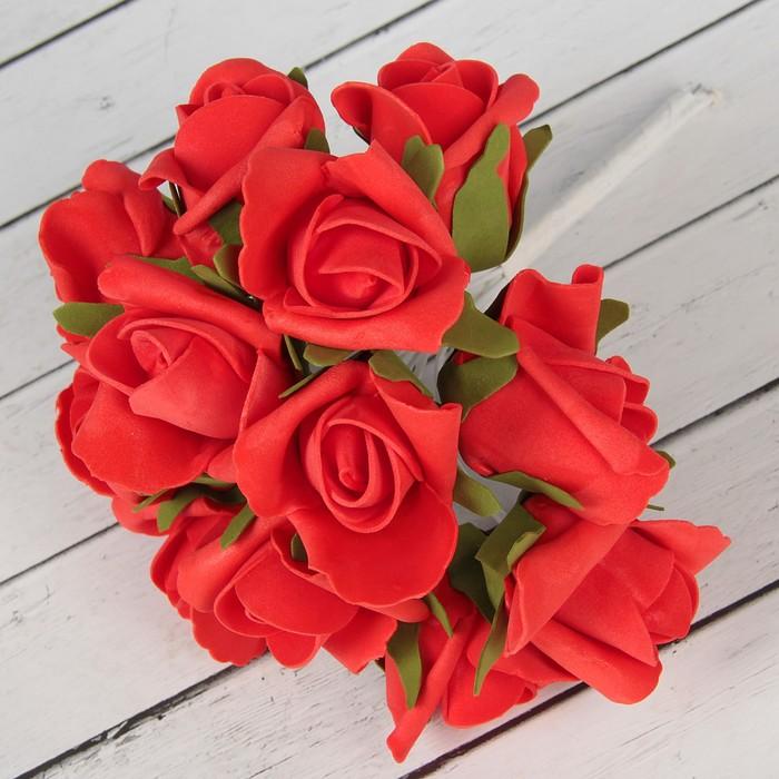 """Букет """"Роза"""" 13 цветков, красный"""