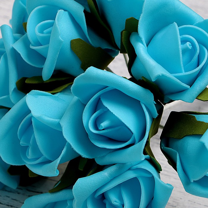 для картинки с бирюзовыми розами задачи возникают