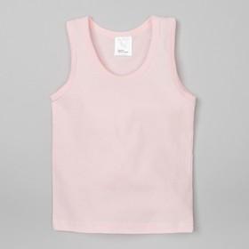 Майка ,розовая, р-р 30 (98-104см) 3-4г., 100% хлопок