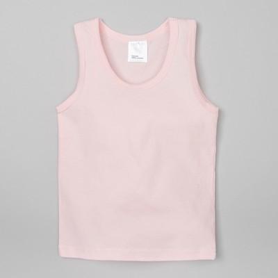 Майка для девочки, розовая, р-р 34 (122-128 см) 7-8 л, 100% хлопок