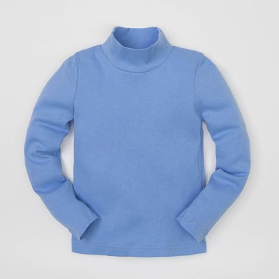 Водолазка, голуб, р-р 30 (98-104см) 3-4г., 70% хл., 30% п/э