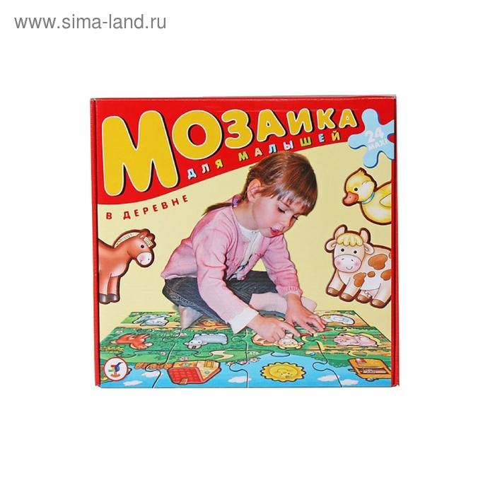 """Пазл - мозаика для малышей """"В деревне"""""""