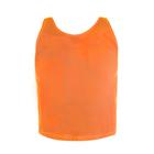 Манишка (накидка) сетчатая, размер L, цвет оранжевый